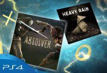 PlayStation Plus Июль 2018: Heavy Rain и Absolver