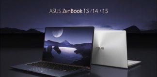 Компания ASUS представила новые модели ZenBook 13, 14 и 15