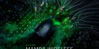 Razer представила мышь Mamba Wireless