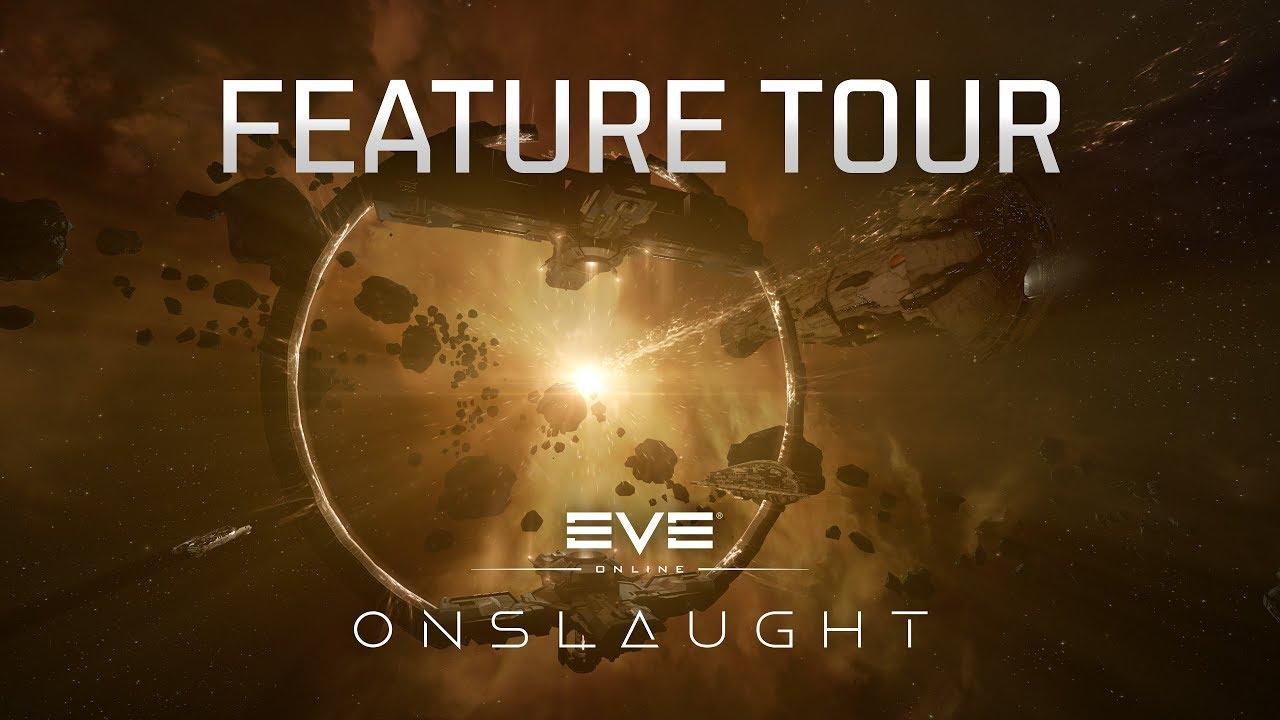 Расширение EVE Online Onslaught уже доступно игрокам
