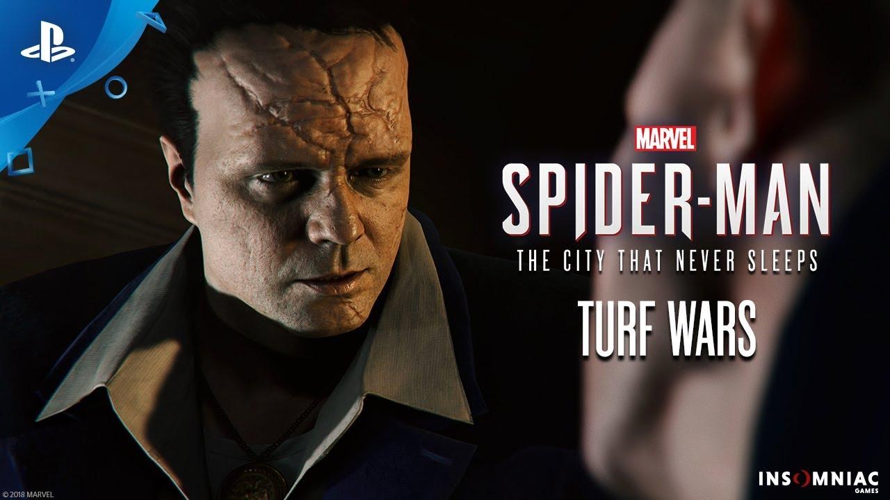 Дополнение Войны банд для Spider-Man уже доступно