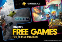 PlayStation Plus Январь 2019: Steep и Portal Knights