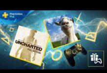 PlayStation Plus Январь 2020: коллекция Uncharted и Goat Simulator