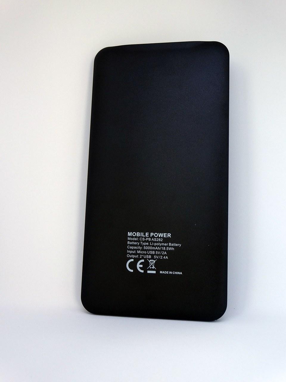 Обзор внешнего аккумулятора Cactus CS-PBAS282 на 5 000 мАч