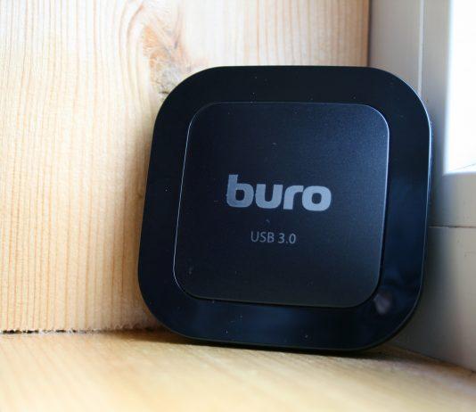 картридер BURO BU-CR/HUB3-U3.0-C004