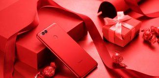Красный Honor 7X
