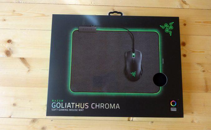 Обзор Razer Goliathus Chroma. Мягкий и яркий