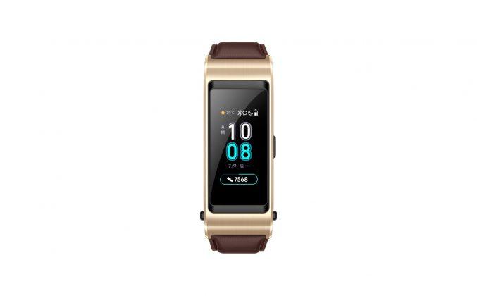Huawei представила браслет-гарнитуру TalkBand B5