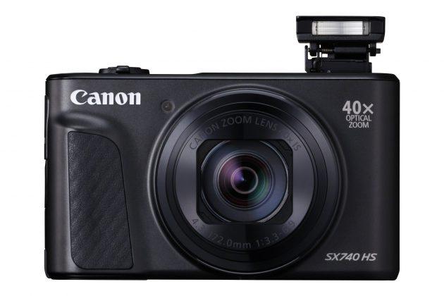 Компания Canonпредставляет PowerShotSX740HS