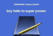 Samsung представила флагман Galaxy Note 9
