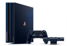 Sony выпустит прозрачную PlayStation 4 Pro 500 Million Limited Edition