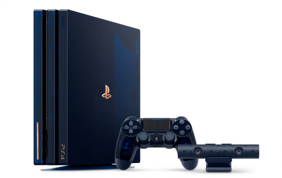 Sony выпустит прозрачную PlayStation 4 Pro 500 Million Limited Edition