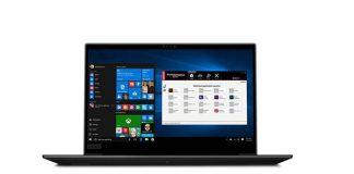 Lenovo представила ThinkPad P1 и ThinkPad P72