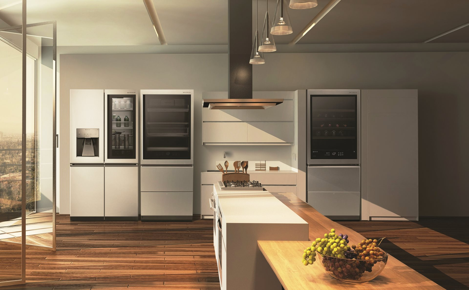 2018 LG SIGNATURE Kitchen