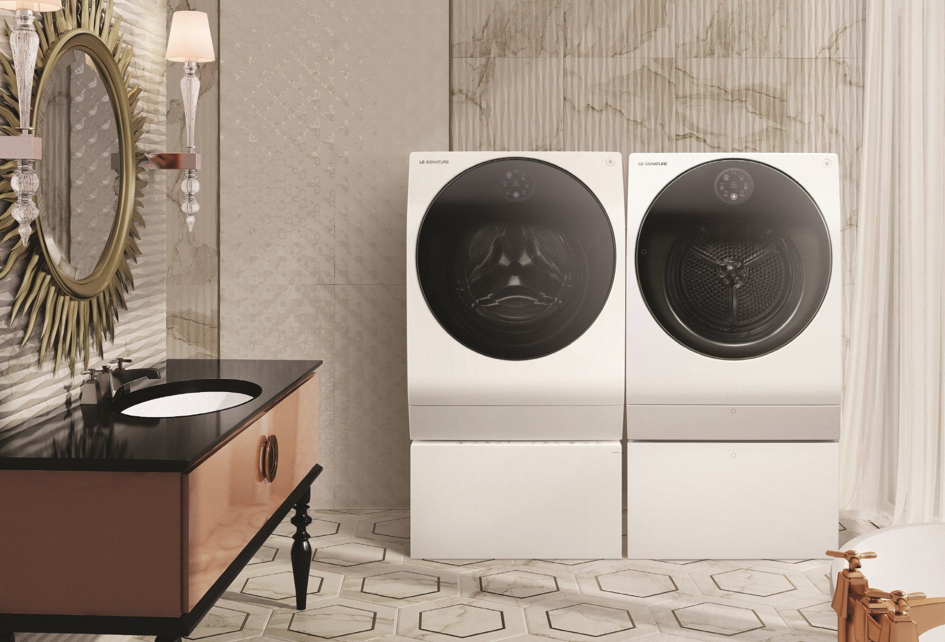 2018 LG SIGNATURE Washer & Dryer
