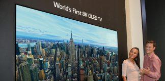 LG представляет телевизор LG 8K OLED TV