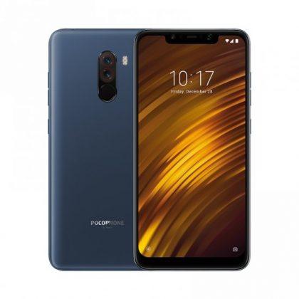 Xiaomi Pocophone F1 поступил в продажу в России blue
