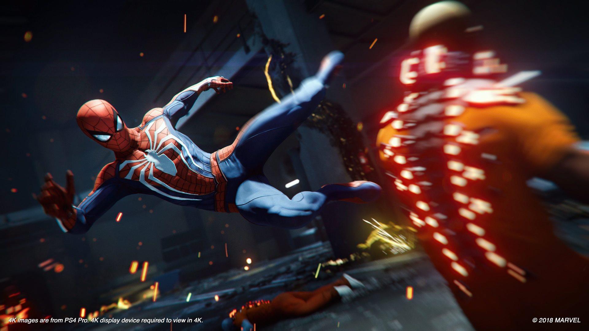 Обзор Marvel's Spider-Man - сражение