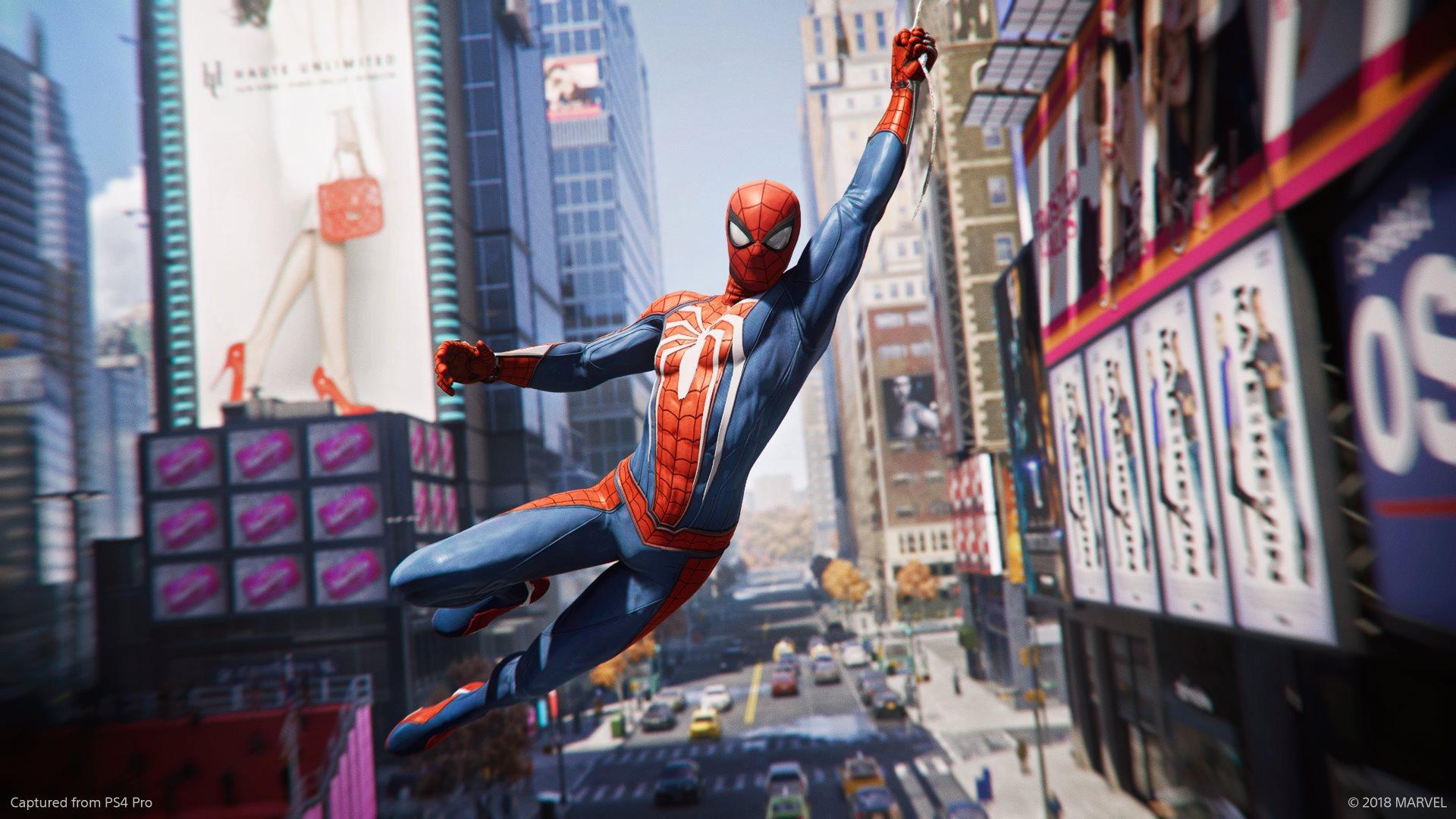 Обзор Marvel's Spider-Man - город