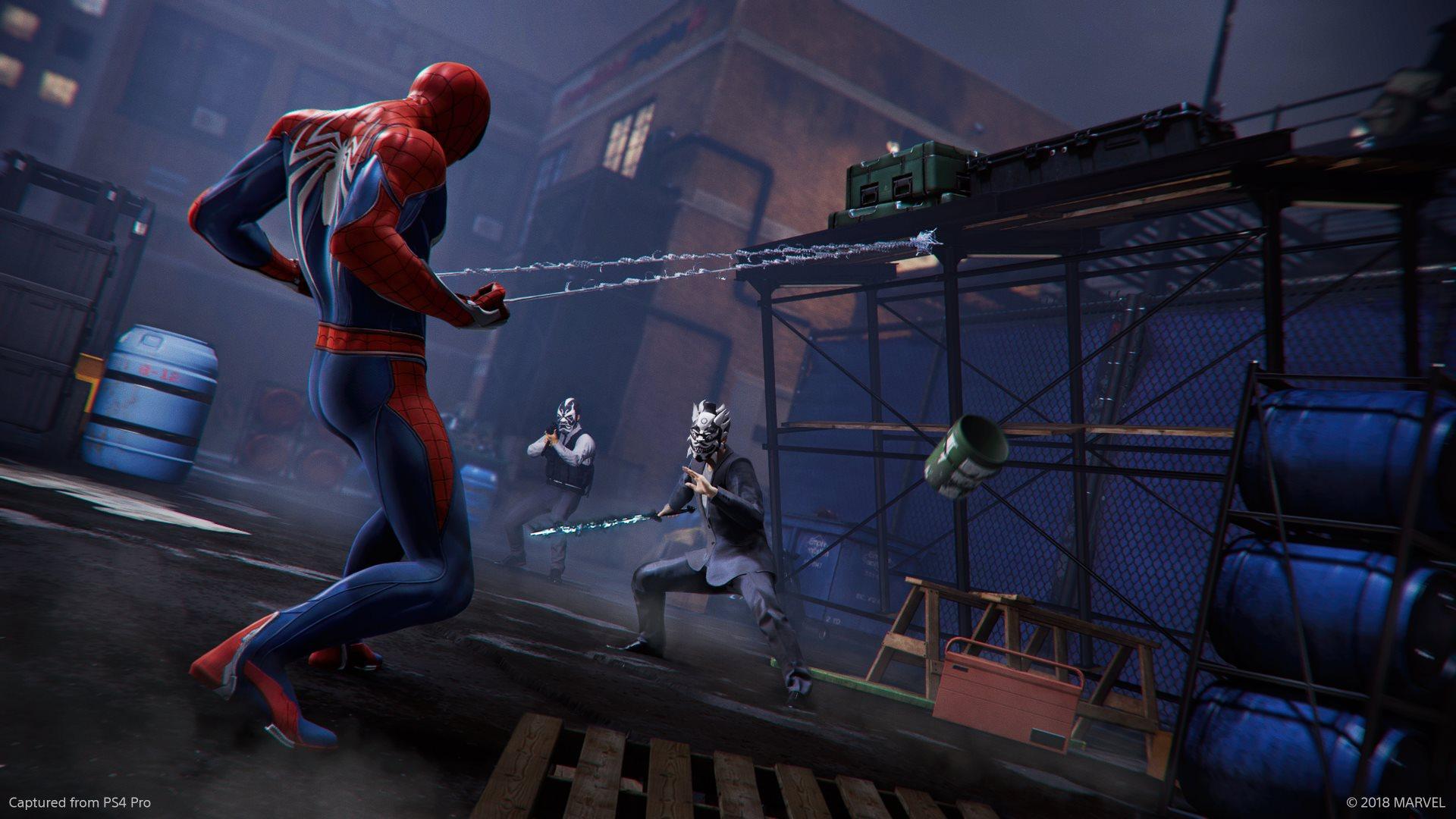 Обзор Marvel's Spider-Man - окружение