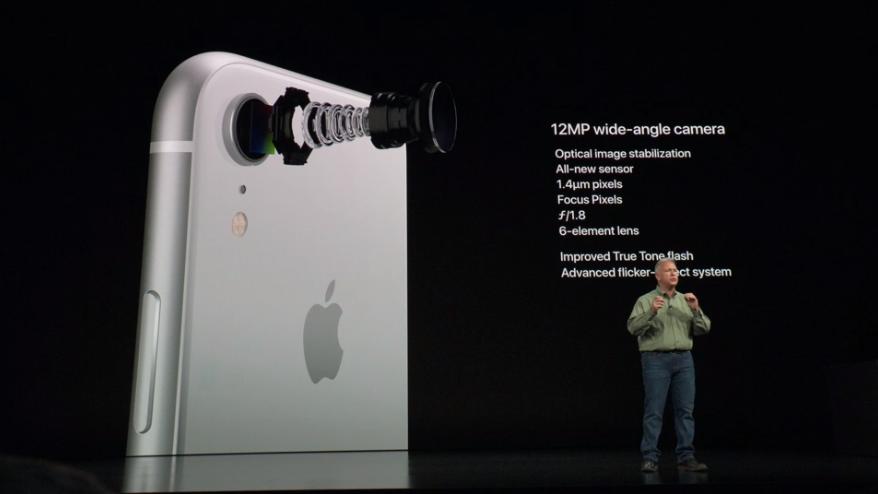 Apple представила доступный iPhone Xr - камера