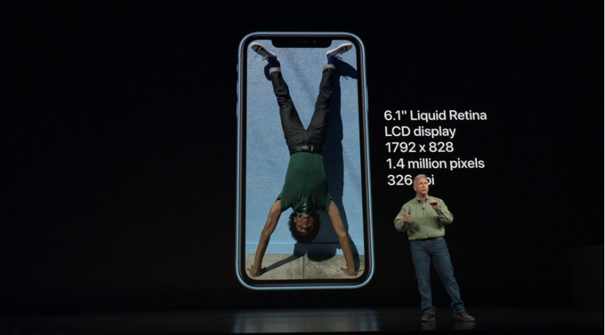 Apple представила доступный iPhone Xr - экран