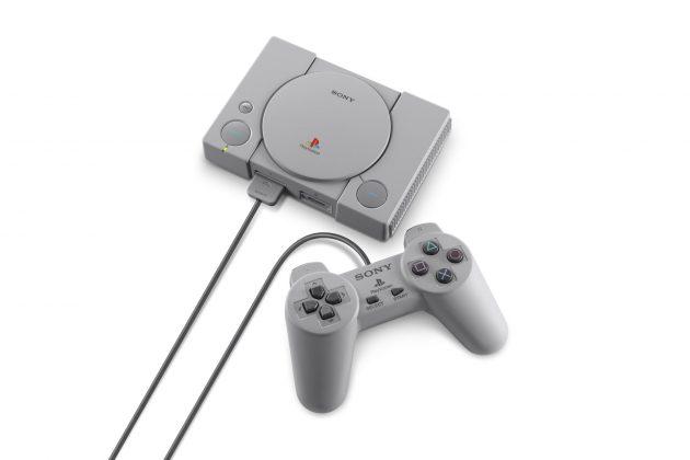 Sony представила миниатюрную PlayStation Classic - консоль и контроллер