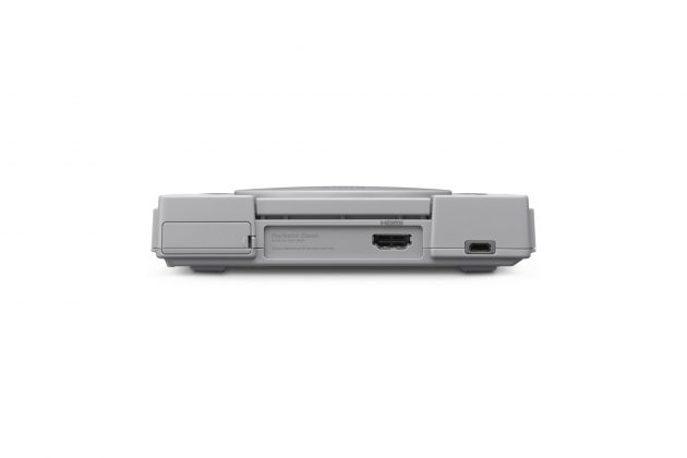Sony представила миниатюрную PlayStation Classic - вид сзади