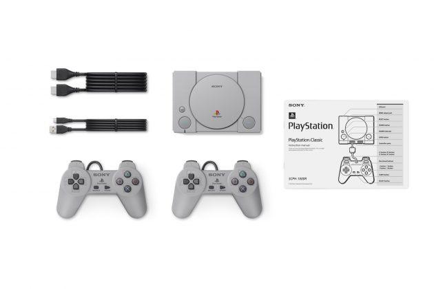 Sony представила миниатюрную PlayStation Classic - комплектация