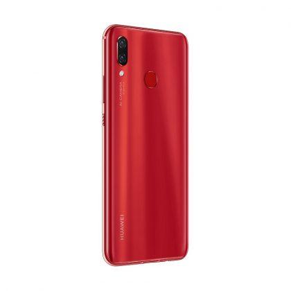 Представлен Huawei nova 3 в красном цвете