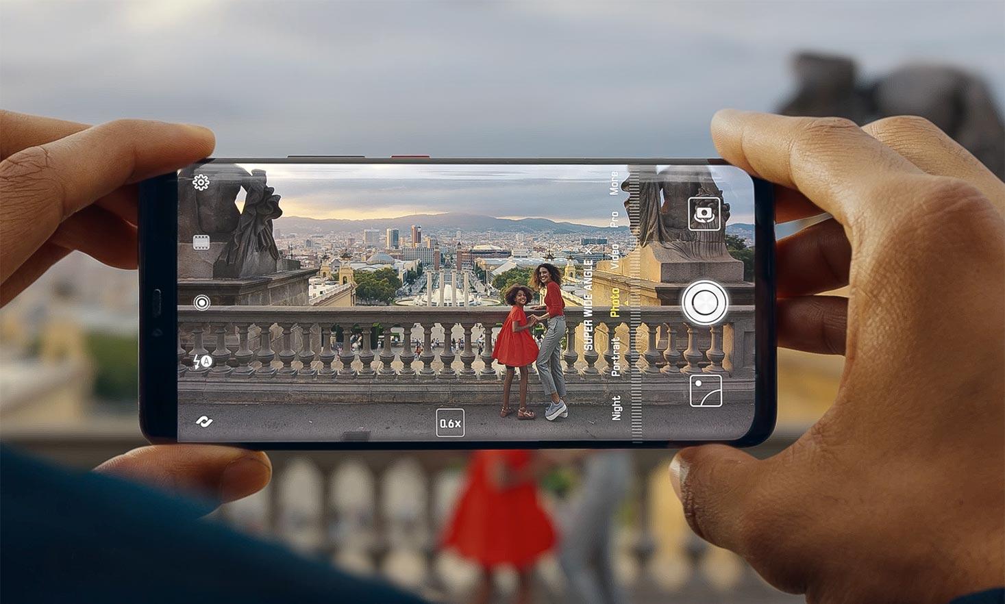 Huawei представила смартфоны серии HUAWEI Mate 20