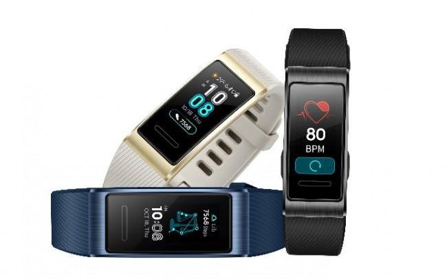 Huawei представила умный браслет HUAWEI Band 3 Pro