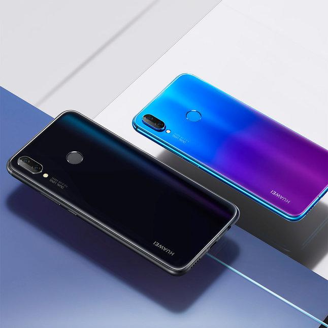 Huawei представила HUAWEI nova 3i с двумя двойными камерами