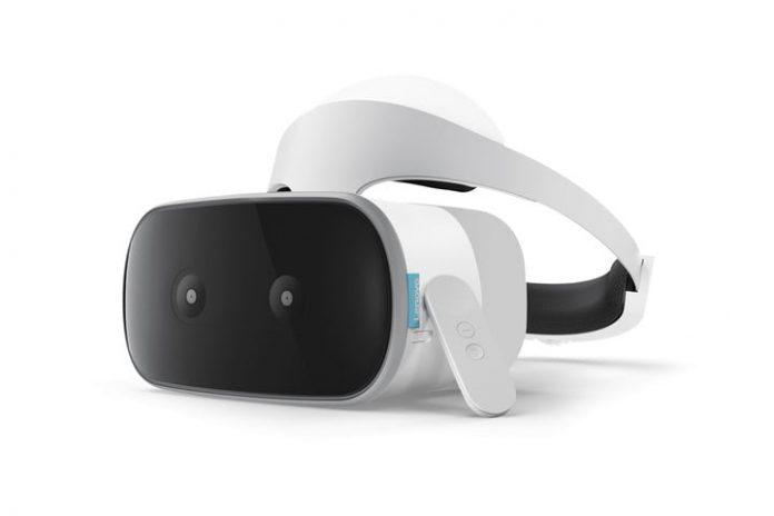 Lenovo Mirage Solo в дизайне VR-шлема PlayStation