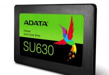 ADATA представила SSD Ultimate SU630 3D QLC NAND