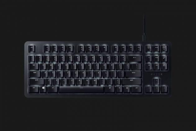 Razer BlackWidow Lite - офисно-игровая механика - front
