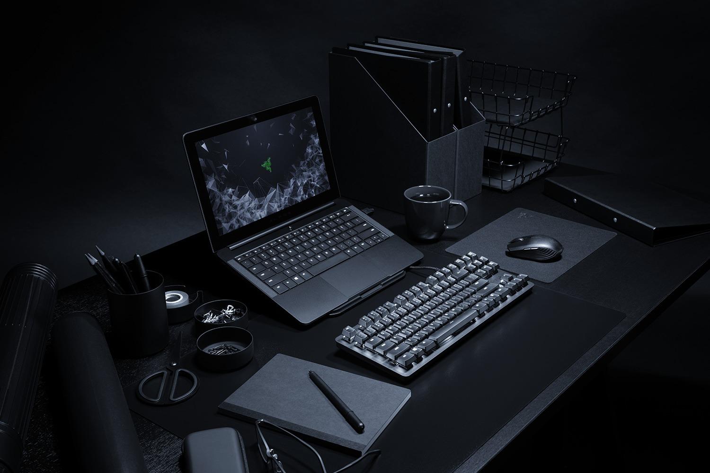 Razer BlackWidow Lite - офисно-игровая механика - 3d