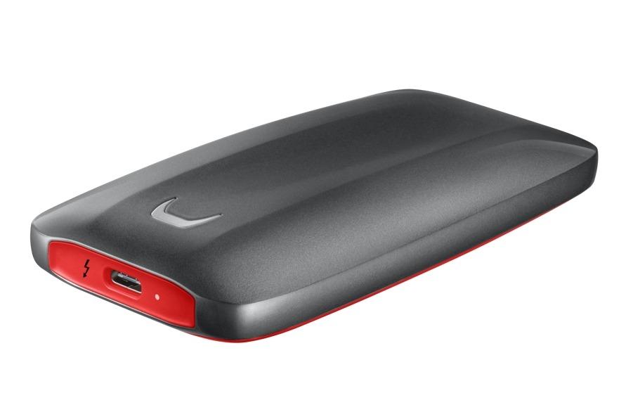 Начались продажи портативного диска Samsung SSD X5