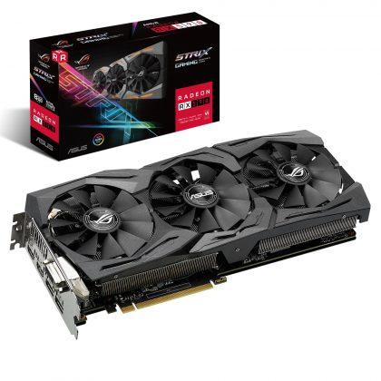 ASUS представила видеокарту ROG Strix Radeon RX 590