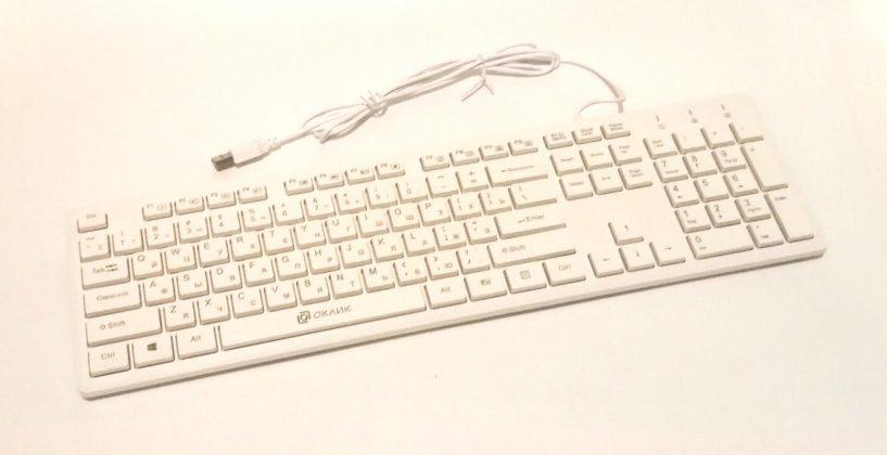 Обзор недорогой клавиатуры Oklick 500M