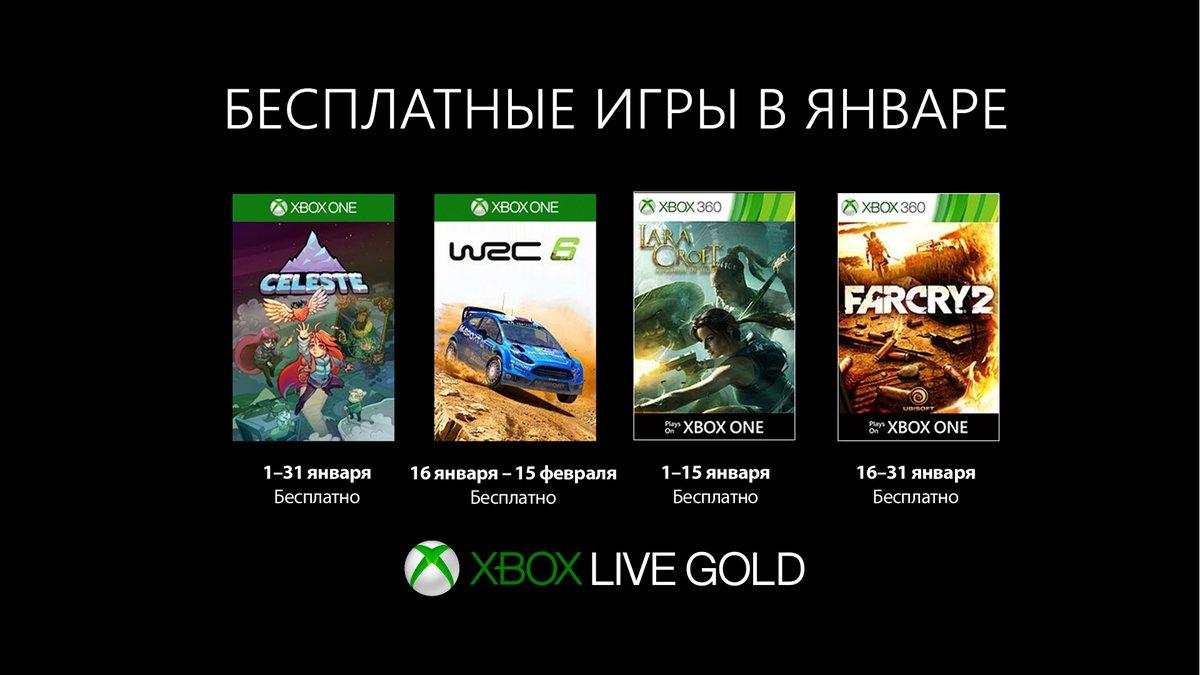 Xbox Live Gold Январь 2019: Celeste и WRC 6