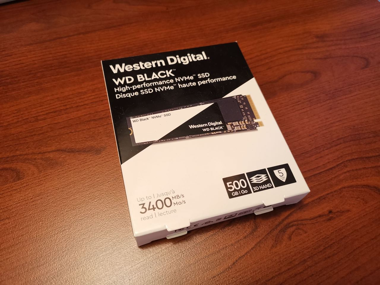 Обзор и тестирование WD Black NVMe SSD 500 GB
