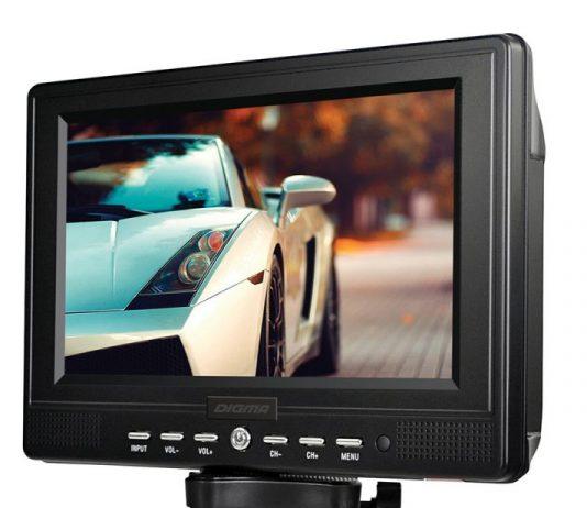 Обзор автомобильного ТВ Digma DCL-720