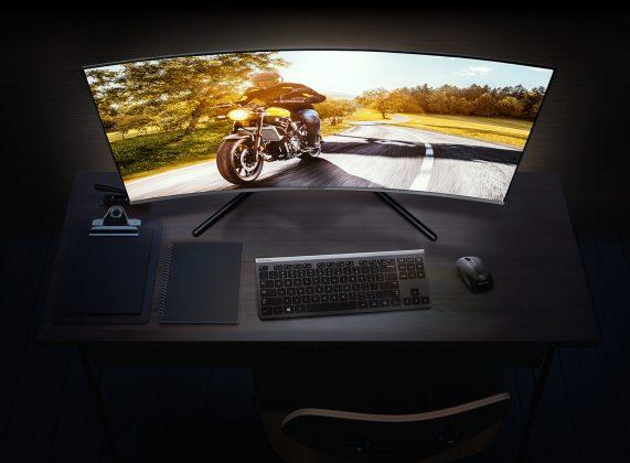 Представлены три новых монитора Samsung Samsung UR59C 32 Monitor