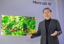 Samsung представила новинки на Micro LED