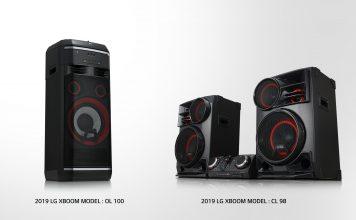 LG представила новые акустические системы LG XBOOM