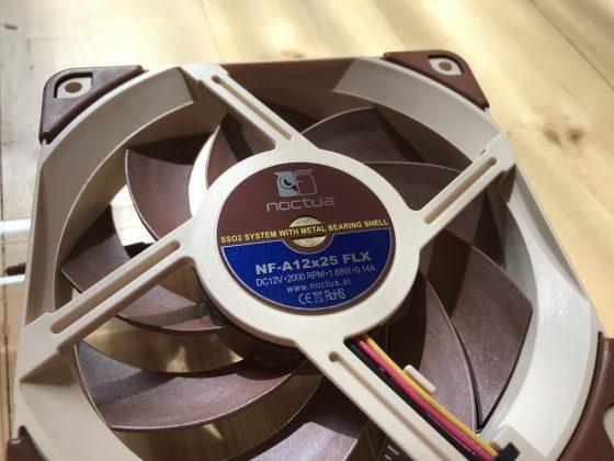 Обзор вентиляторов Noctua NF-A12x25 PWM, FLX и ULN