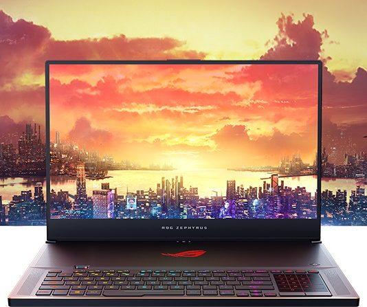 Zephyrus S GX701 - новый ноутбук от ASUS ROG