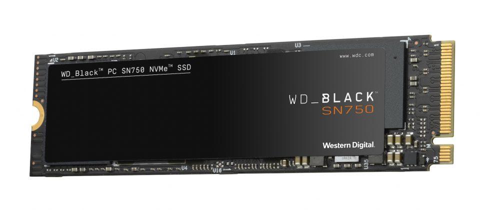 Представлен SSD WD Black SN750 NVMe