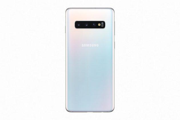 Galaxy S10 Prism White_back